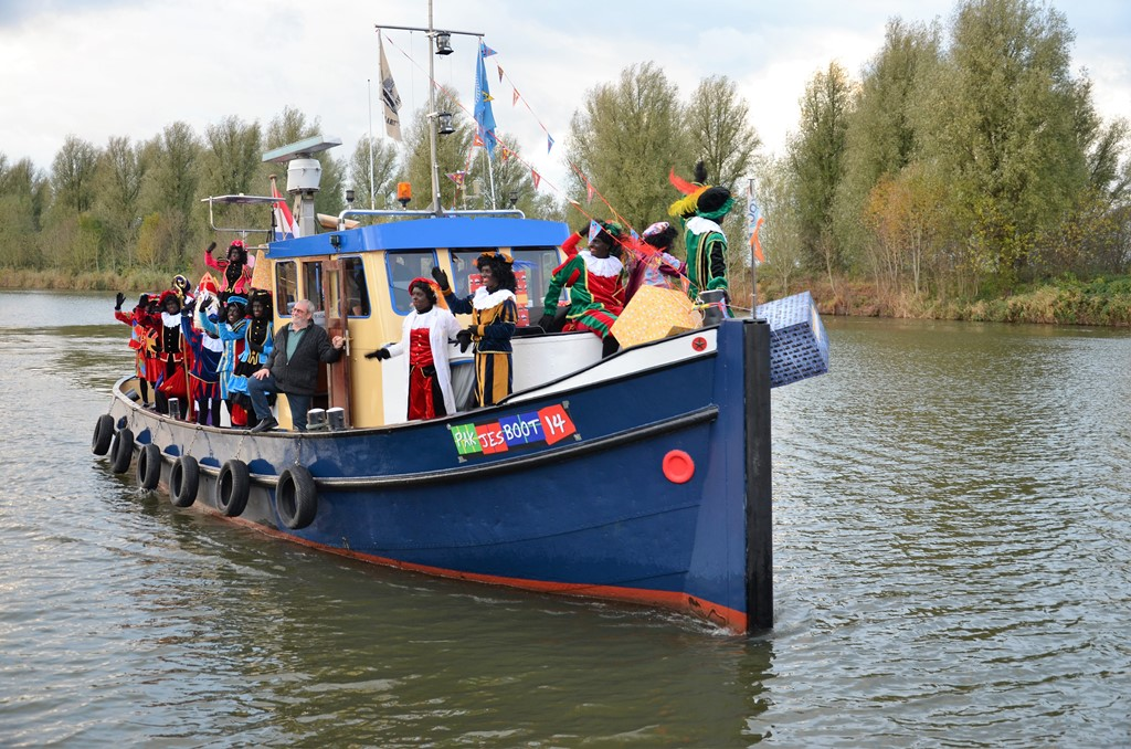 Sinterklaasintocht op 18 november