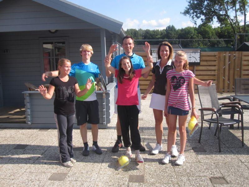 Mini-maxi toernooi bij BAS Tennis