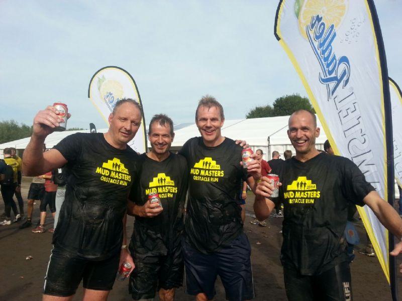 Knock Out voor fitste deelnemers Mud Masters