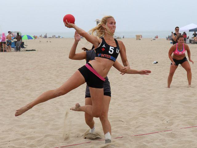 NK Beach Handball bij Molecaten Flevostrand