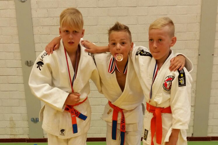 Laatste toernooi van het seizoen voor BAS Judoka's