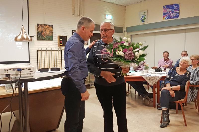 Gouden IJsvogel voor Henk Stegeman