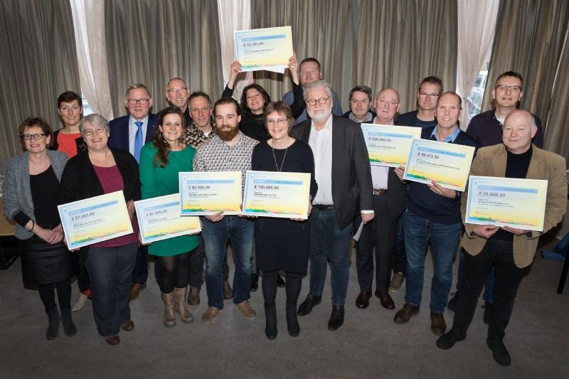 Subsidie voor MFG2, Bouwen aan Biddinghuizen en Hannekes Pluktuin