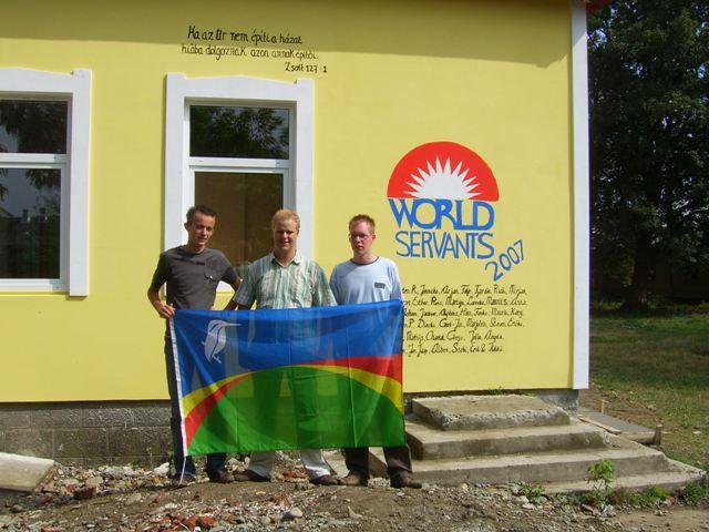 World Servants terug van reis