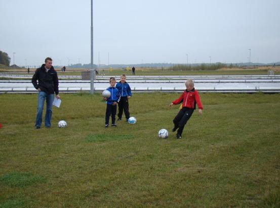 Succesvolle voetbalgolf voor F-jeugd