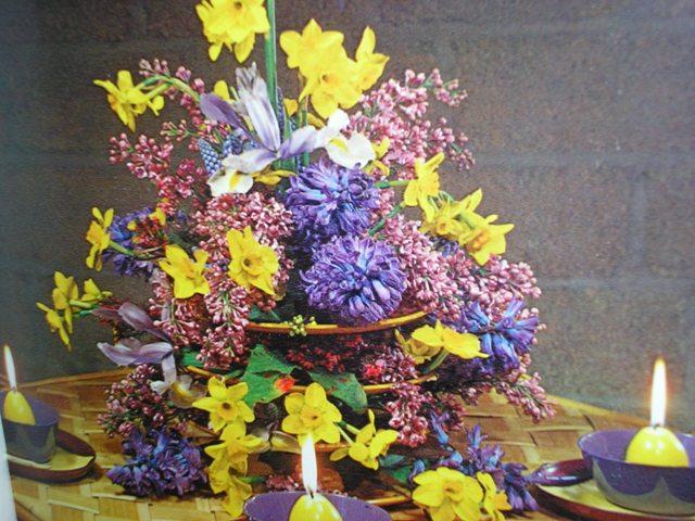 Paasworkshop bloemschikken in Informatiecentrum