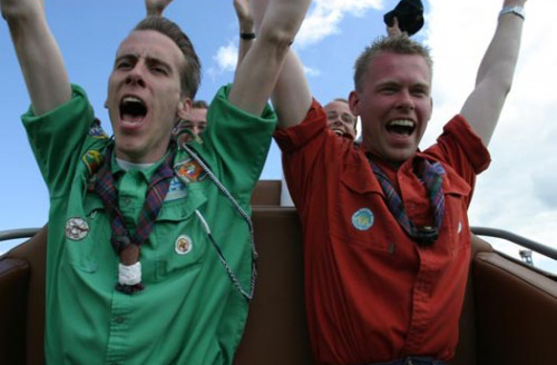 Uniek Scoutingevenement bij Walibi Holland