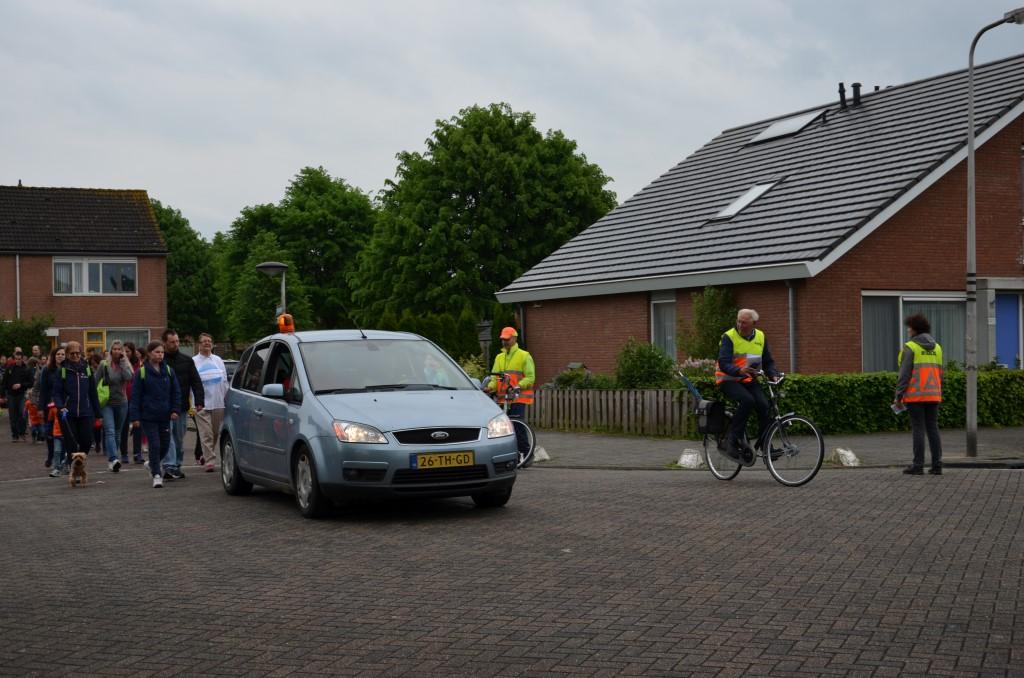 Stichting de IJsvogel zoekt verkeersregelaars