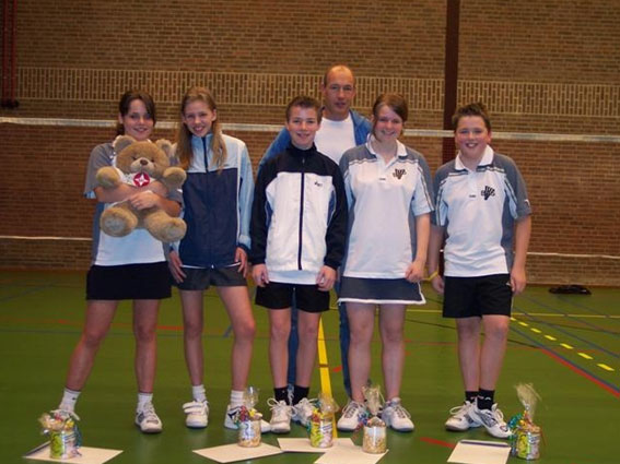 Derde kampioen voor Badminton
