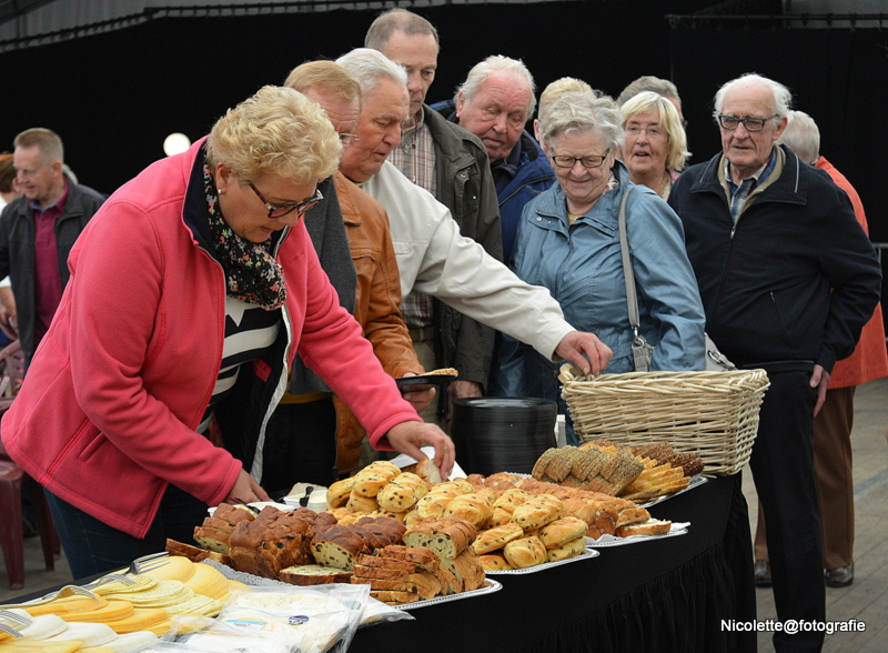 Inschrijving stamppottenbuffet in volle gang