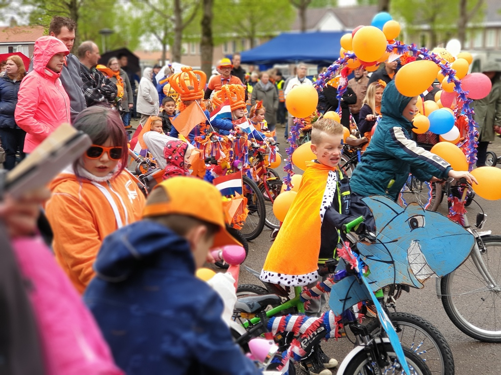 Diverse activiteiten rond Pasen en Koningsdag