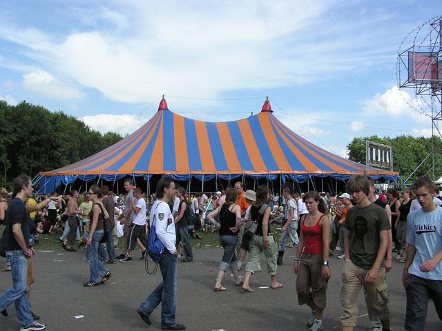 Lowlands herschikt festivalterrein