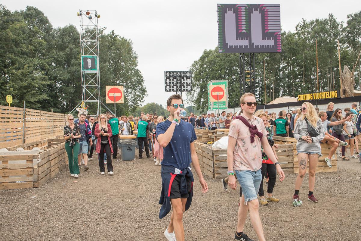 Lelystadse Lowlands-pre-party verwelkomt festivalgangers