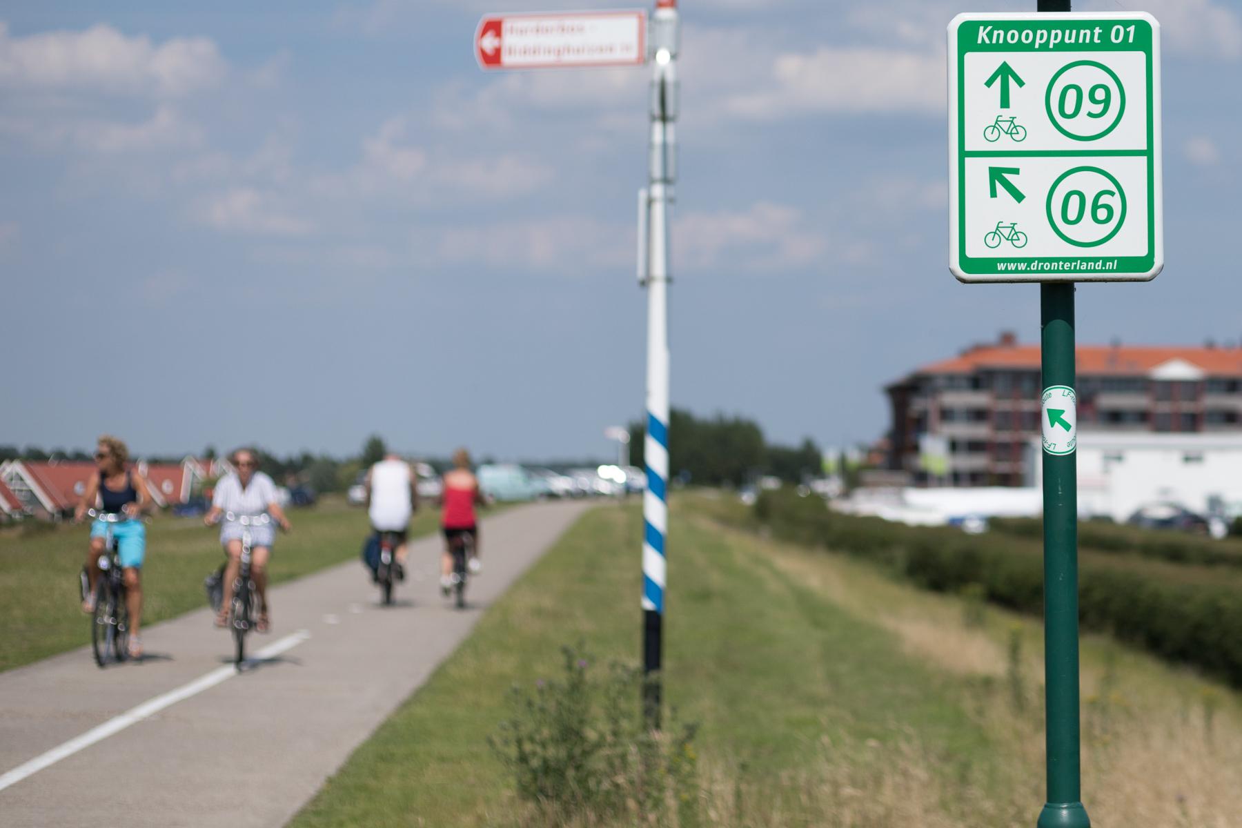 Nieuwe recreatie- en fietsroutekaart Dronten