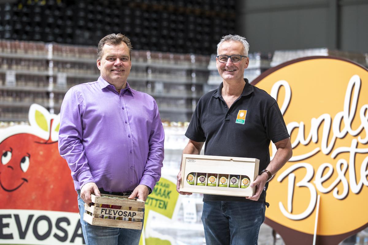 Flevosap blijft in Biddinghuizen en heeft een nieuwe smaak