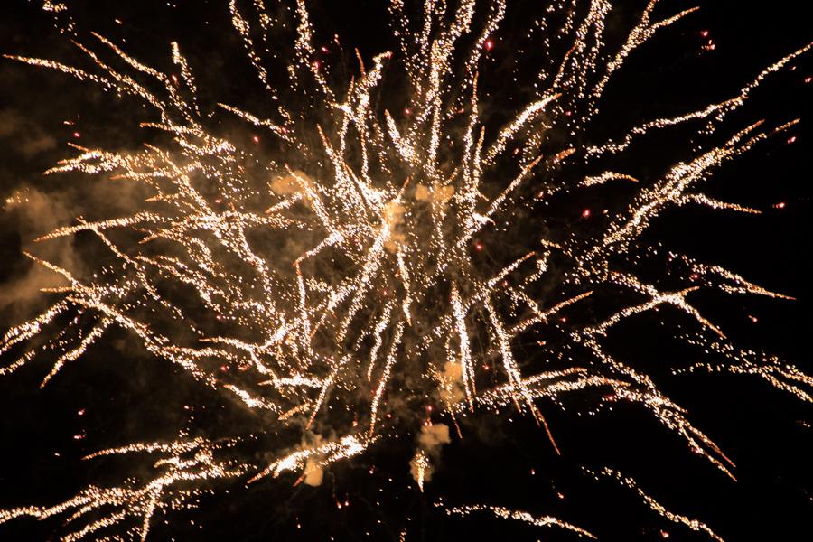 Grootse vuurwerkshow bij Flevonice