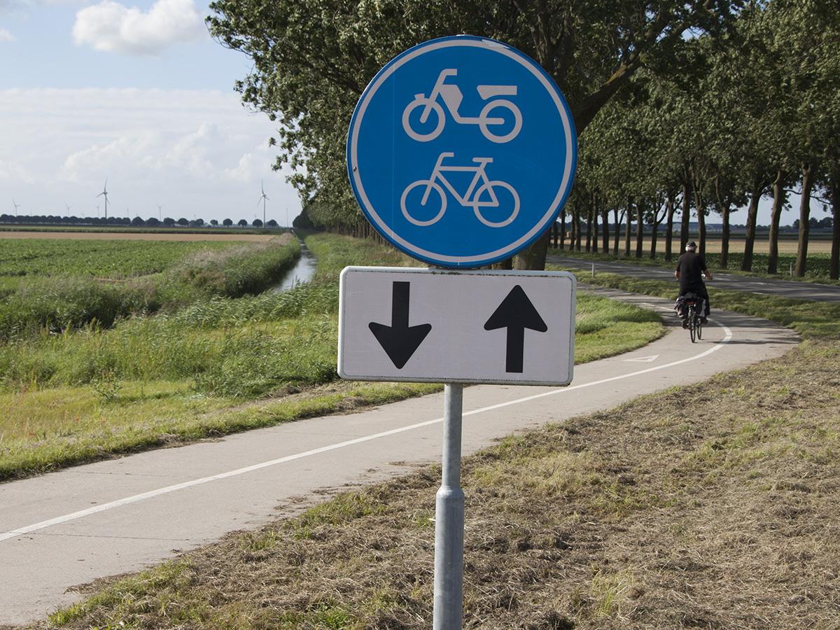 Geen nieuw fietspad tussen Biddinghuizen en het Veluwemeer