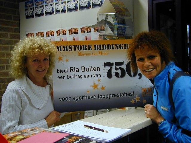 MM Store Biddinghuizen steunt Ria Buiten