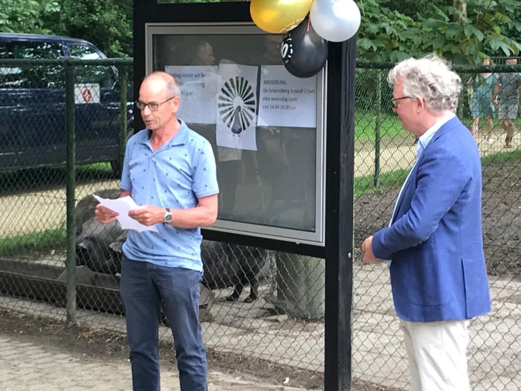 Dierenpark de Scharrelberg viert 40-jarig bestaan
