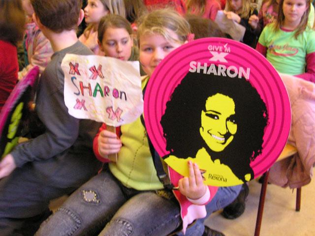 Internetactie voor Sharon Kips