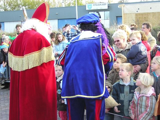 Bezoek van Sint en Piet