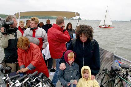 Pont Biddinghuizen-Nunspeet officieel geopend (2)