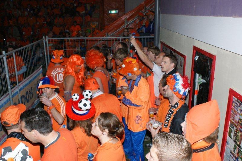 Oranje nu zelf spelbreker in Chrasnapolski