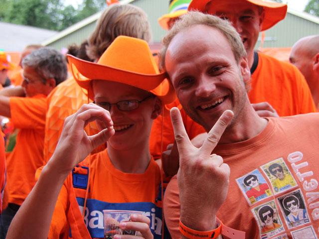 Havenweg kleurt Oranje: 2-0