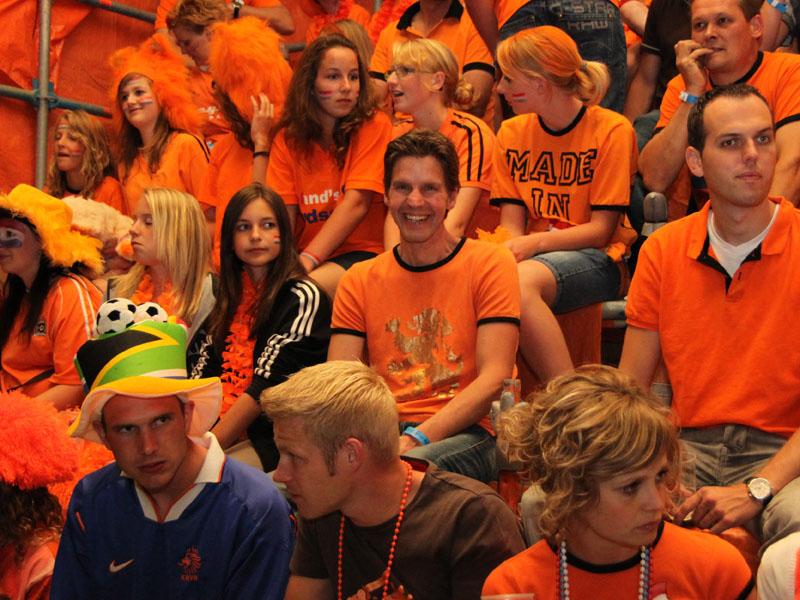 Oranjemars voorafgaand aan WK-finale [update]