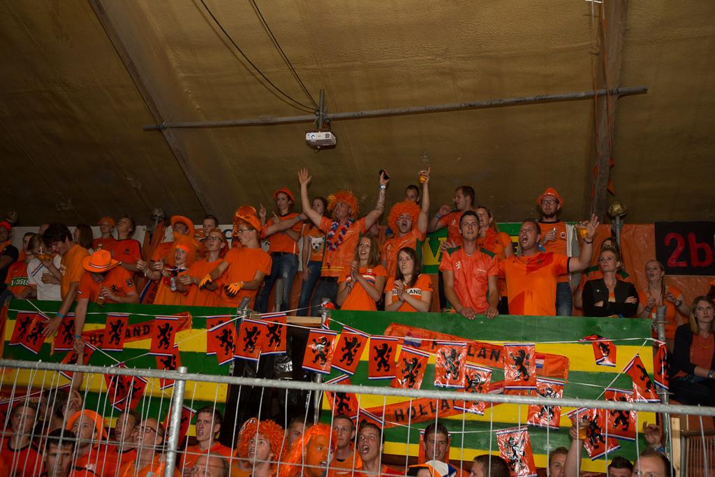Uitverkocht Sambatata ziet Oranje winnen van Australië