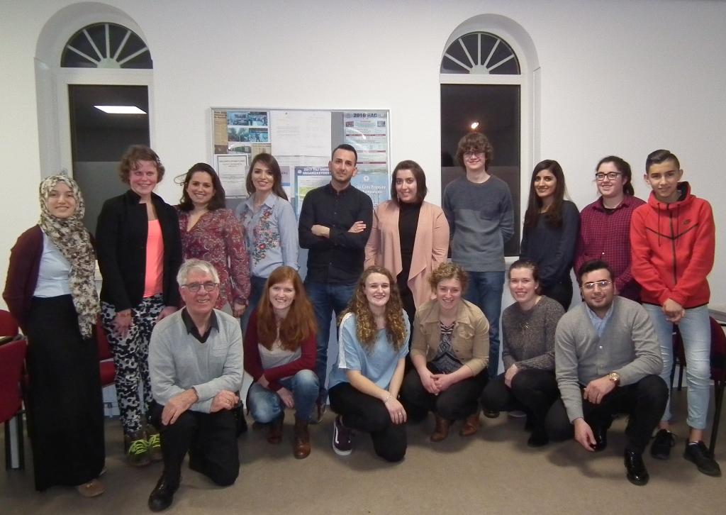 Protestantse en Turkse jongeren ontmoeten elkaar
