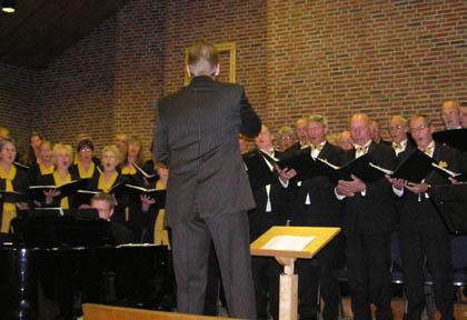 Koren zingen bij orgelmarathon