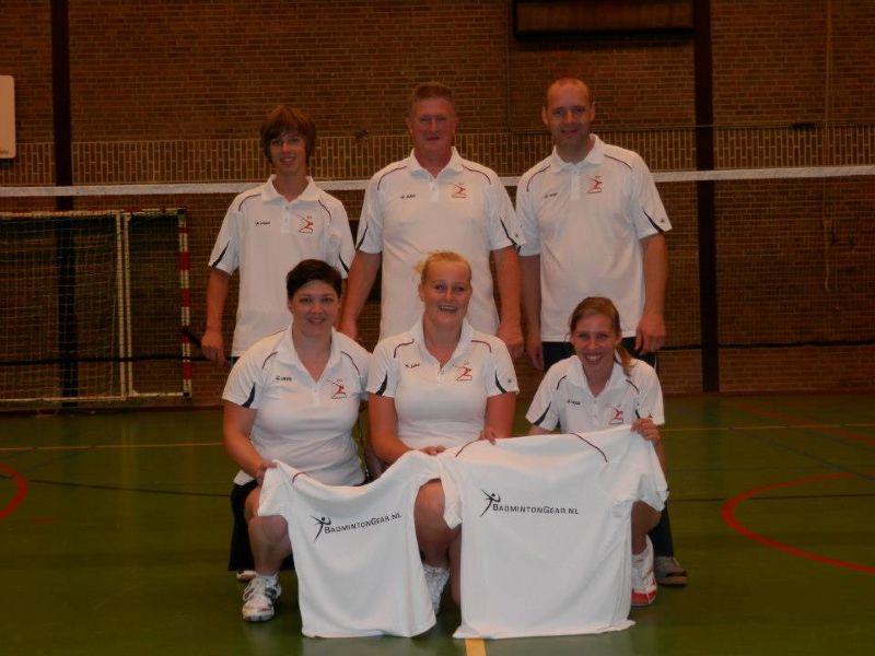 Dubbel feest bij BAS Badminton