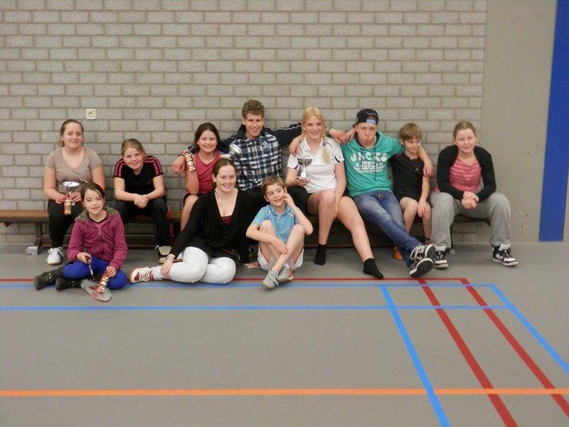 Prima resultaat bij jeugdtoernooi Badminton