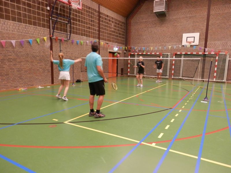 BAS Badminton 35 jaar