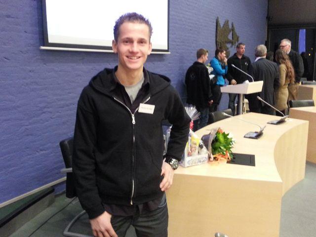 Dennis van der Jagt vrijwilliger van het jaar
