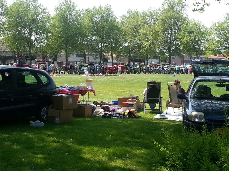 Kofferbakmarkt in Biddinghuizen