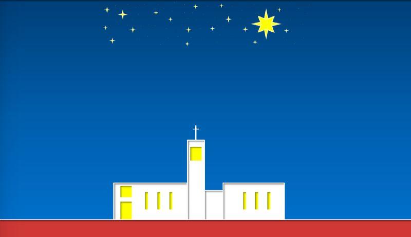 Kerkzaal open tijdens de kerstmarkt