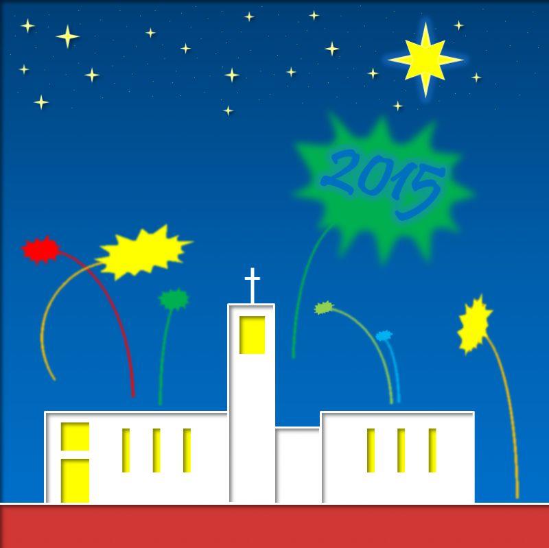 Welkom rond oud en nieuw bij de kerken van De Voorhof