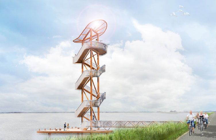 Ontwerp voor Belvédère Toren gereed
