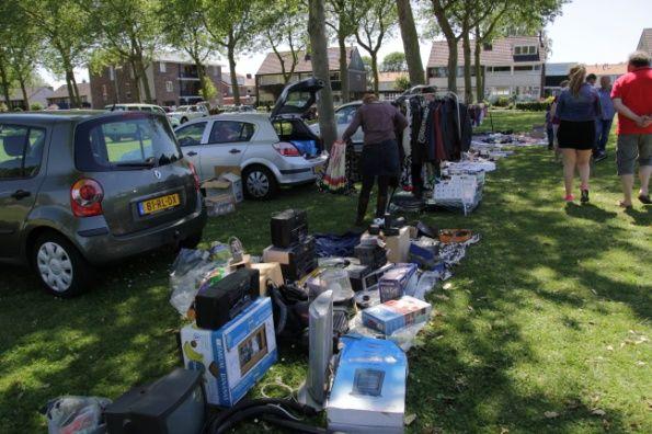 Stichting De IJsvogel organiseert kofferbakmarkt