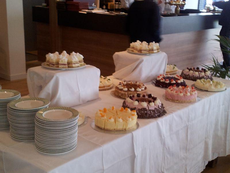 Kaffee und Kuchen bij de Klink