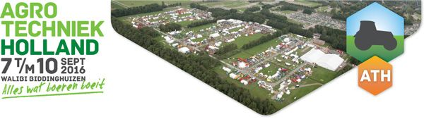 Agrotechniek Holland 2016 al driekwart volgeboekt