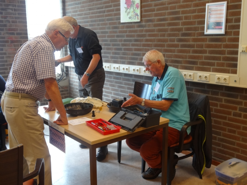 Tuingereedschap in Repair Café