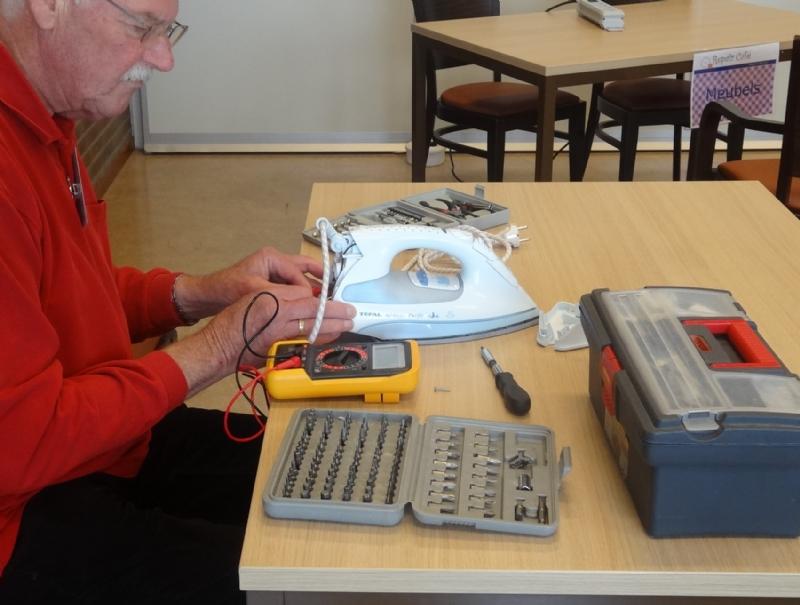 Tuingereedschap in Repair Café