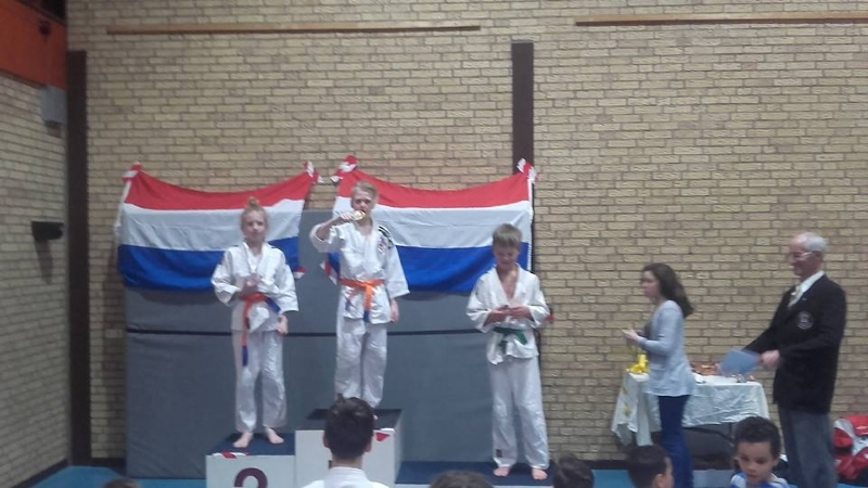 Goede resultaten BAS judoka's bij Fuyiama toernooi Diemen
