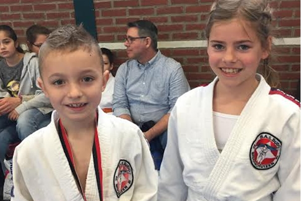 Wisselende resultaten judoka's BAS in Dronten