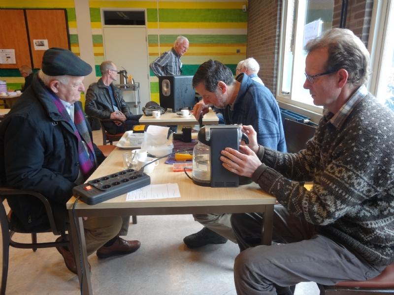 Repair Café voor kampeerspullen