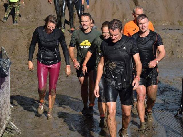 Omroep Flevoland doet live verslag van Mud Masters