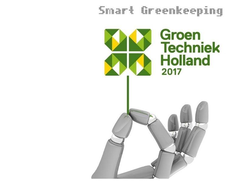 Smart Greenkeeping paviljoen bij GroenTechniek Holland